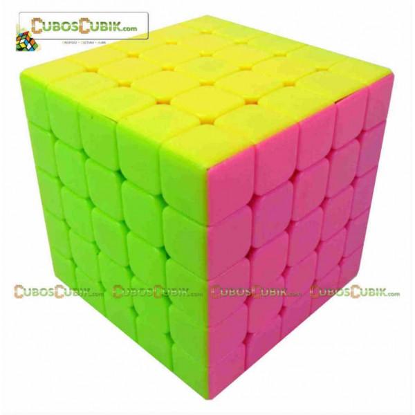 Cubos Rubik Moyu Aochuang 5x5 Pink