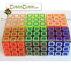 Cubo Rubik Yulong Edicion Cubik Glass