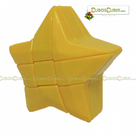 Cubos Rubik Forma Estrella 3x3 Amarillo