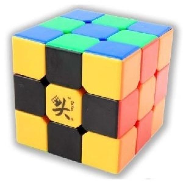 Cubos Rubik Dayan Zhanchi V5 3x3 50mm Colored Negro Ed