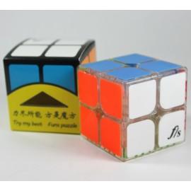 Cubos Rubik Fangshi Shuang 2X2 Base Transparente