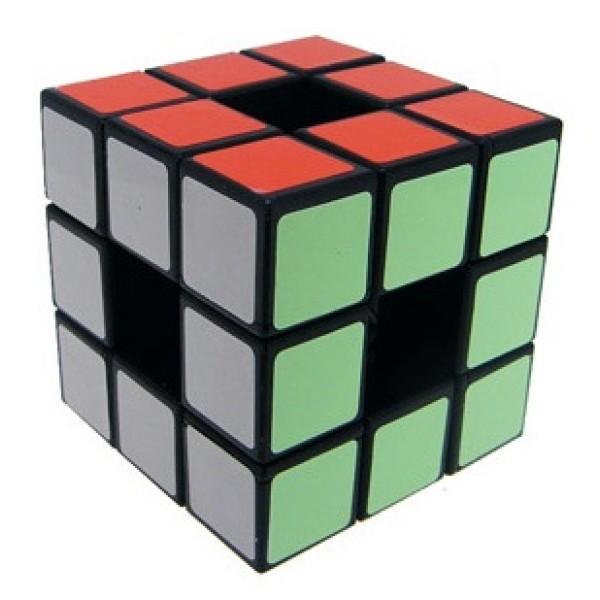 Cubos Rubik Lanlan 3x3 Void Base Negra Sin centros