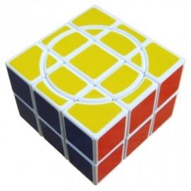 Cubos Rubik Diangsheng 3x3x2 Crazy Base Blanca