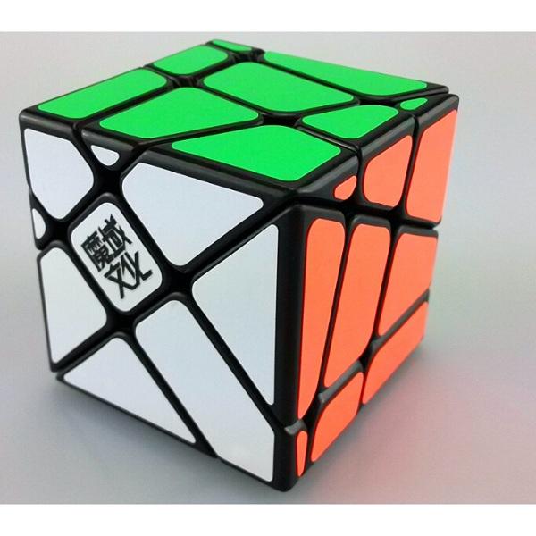 Cubos Rubik Moyu Crazy Yileng Fisher Base Negra