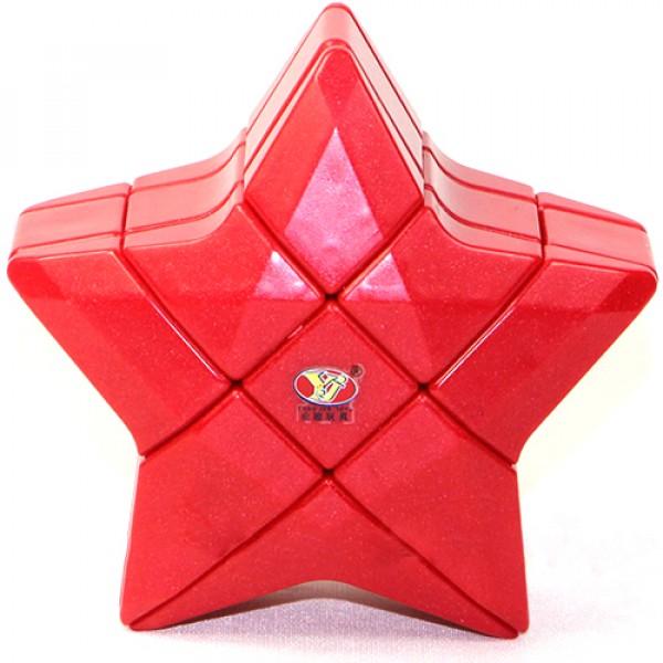 Cubos Rubik Forma Estrella 3x3 Roja