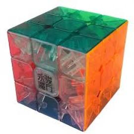 Cubos Rubik YJ Moyu Yulong 3x3 Transparente