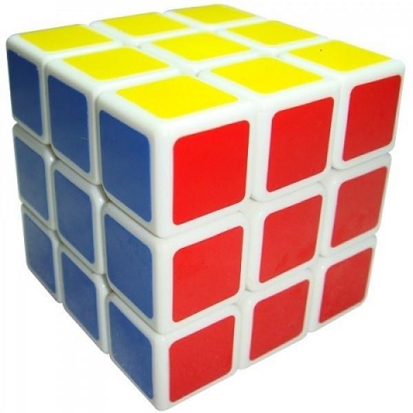 Cubos Rubik Shengshou 3x3 Aurora Base Blanca