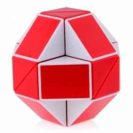 Cubos Rubik Shengshou Snake Twist Negro Rojo