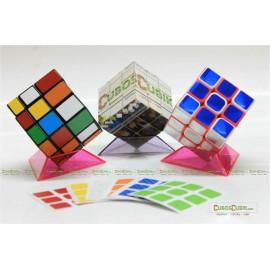 SET de Stickers Fibra de Carbono 3x3 7 Colores