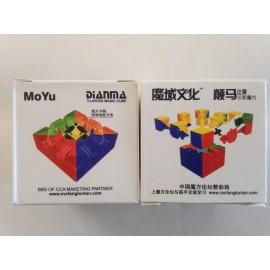 Cubos Rubik YJ Moyu 3x3 Dianma Base Negra