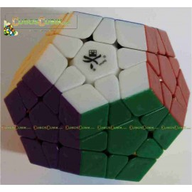 Cubos Rubik Dayan Megaminx Colored Sin Ridges