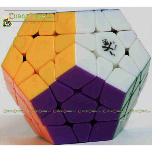 Cubos Rubik Dayan Megaminx Colored Sin Ridges