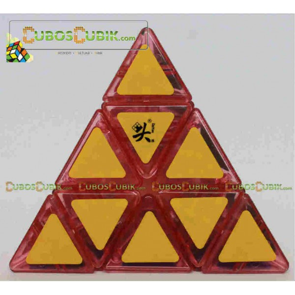 Cubos Rubik DaYan Pyraminx Base Rosa