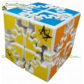Cubos Rubik David Gear 2x2 Meffert´s Blanco