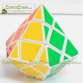 Cubos Rubik DiangSheng Diamond 3x3 Base Blanco
