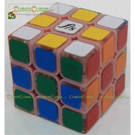 Cubos Rubik Fangshi Illusion 3x3 Rosa