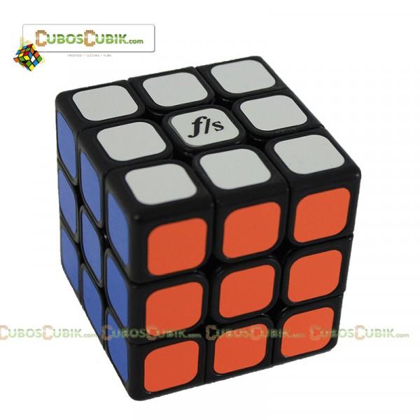 Cubos Rubik Fangshi JieYun 3x3 Base Negra