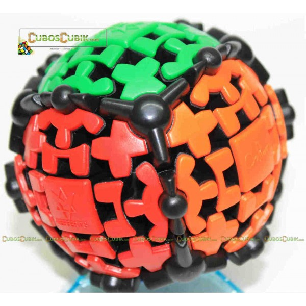 Cubos Rubik Mefferts Gear Ball 3x3 Negro
