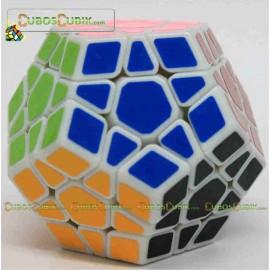 Cubos Rubik Dayan Megaminx Sin Ridges Base Blanca