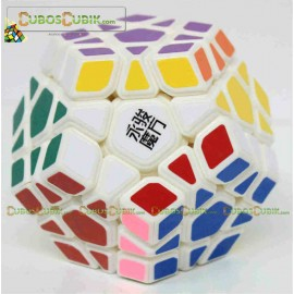 Cubos Rubik MoYu Megaminx YuHu Base Blanco