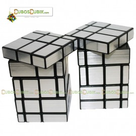 Cubos Rubik Shengshou 3x3x5 Mirror Plata