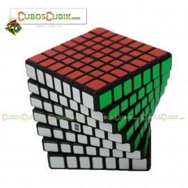 Cubos Rubik Moyu Aofu Flat 7x7 Pink